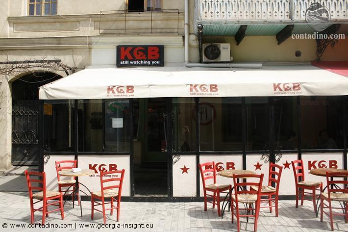 Café im Chardeni Viertel