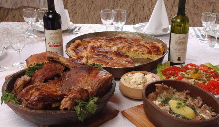 Essen und Trinken Montenegro